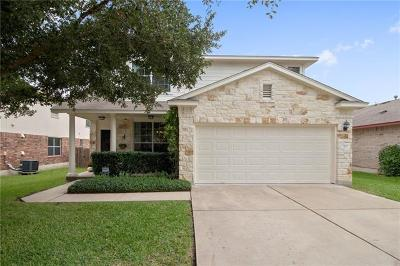 Round Rock Single Family Home Pending - Taking Backups: 437 Grey Feather Ct