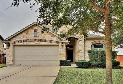 Round Rock Single Family Home For Sale: 2803 Angelina Dr
