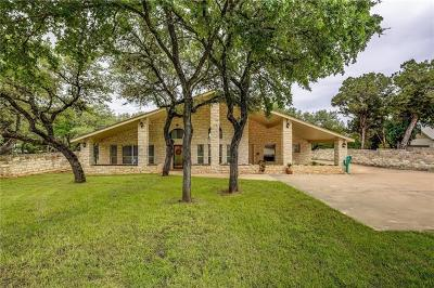Single Family Home For Sale: 6009 Hudson Bend Rd
