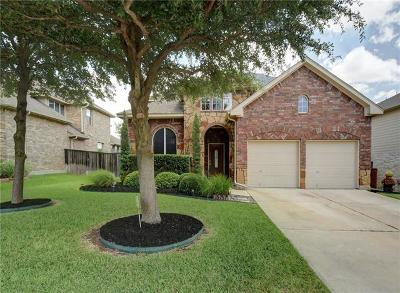 Round Rock Single Family Home For Sale: 4204 Fairmeadow Dr