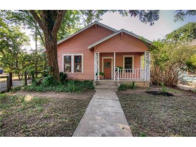 Austin Single Family Home Pending - Taking Backups: 4517 Avenue F