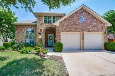 Pflugerville Single Family Home For Sale: 2528 Quiet Water Pass