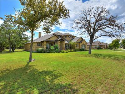 Georgetown Single Family Home For Sale: 405 Casa Verde Dr