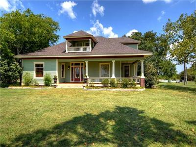Hutto Single Family Home For Sale: 1981 County Road 105