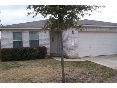 Leander Single Family Home For Sale: 600 McCarthur Dr
