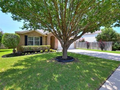 Cedar Park Single Family Home Pending - Taking Backups: 1508 Gretchen Dr