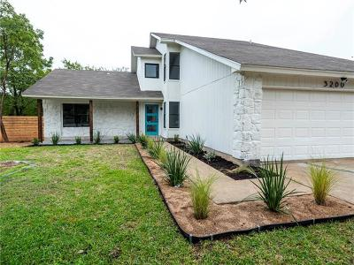 Austin Single Family Home For Sale: 3200 Leaf Ln
