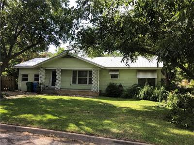 Taylor Single Family Home For Sale: 1002 Kent St