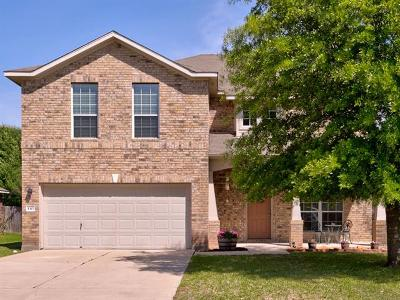 Hutto Single Family Home For Sale: 110 Inman Dr