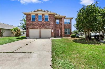 Hutto Single Family Home For Sale: 107 Meadow Lark Ln