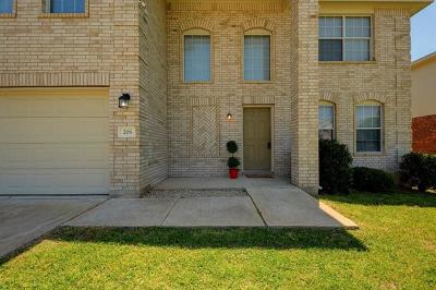 Hutto Single Family Home For Sale: 206 Herrera Trl