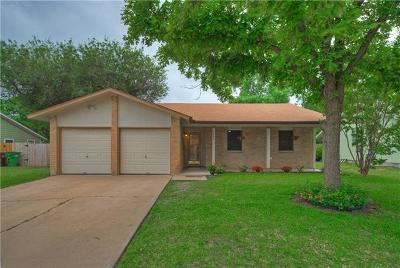 Round Rock Single Family Home Pending - Taking Backups: 1303 E Mesa Park Dr