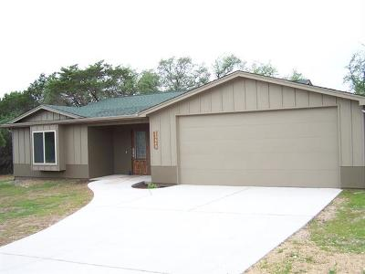 Lago Vista Single Family Home For Sale: 21640 Boggy Ford Rd