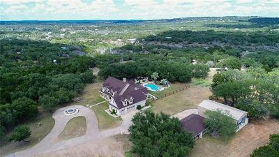 Spicewood Single Family Home For Sale: 23600 Pedernales Canyon Trl