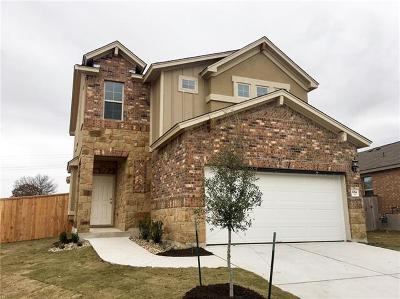Round Rock TX Single Family Home For Sale: $267,490