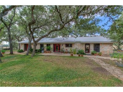 Dripping Springs Single Family Home Pending - Taking Backups: 908 Hays Country Acres Rd