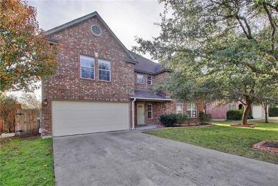 Cedar Park Single Family Home For Sale: 2114 Pena Blanca Dr