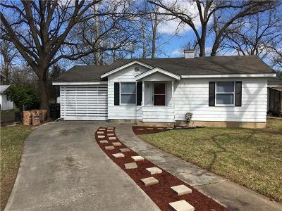 San Marcos Single Family Home Pending - Taking Backups: 1005 Barbara Dr
