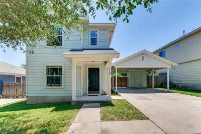 Manor Single Family Home Pending - Taking Backups: 17708 Powder Creek Dr