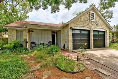 Travis County Single Family Home Pending - Taking Backups: 8519 Birmingham Dr