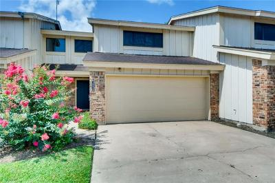 Austin Condo/Townhouse For Sale: 1605 Coronado Hills Dr #B