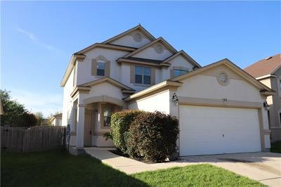 San Marcos Single Family Home For Sale: 279 Cordero Dr