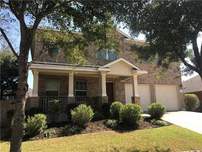 Leander Single Family Home For Sale: 1818 Baranco Way