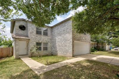 Pflugerville Single Family Home For Sale: 1222 Hughmont Dr