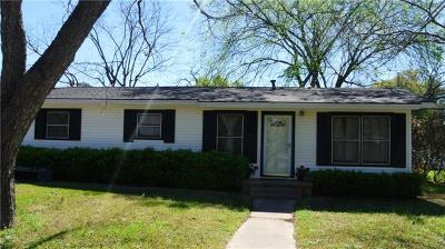 Bastrop County Single Family Home For Sale: 701 W 11th St