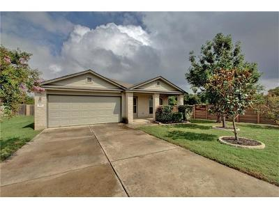 Hutto Single Family Home For Sale: 110 Altamont St
