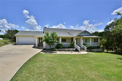 Lago Vista Single Family Home For Sale: 20813 Twisting Trl