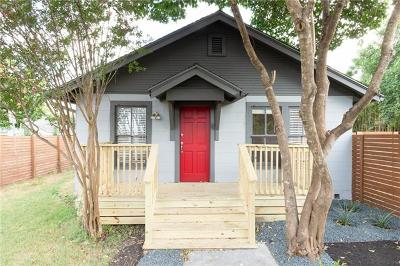 Austin Single Family Home For Sale: 2100 E 22nd St #B