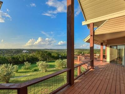 Wimberley Single Family Home For Sale: 825 Skyline Ridge Lookout