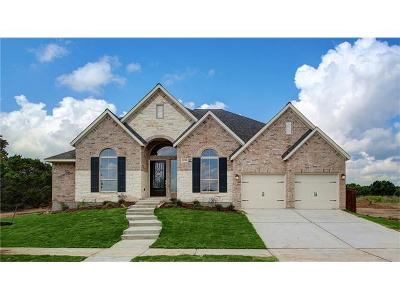 Leander Single Family Home For Sale: 2029 Judge Fisk Ct