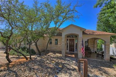 Lago Vista Single Family Home For Sale: 21627 High Dr