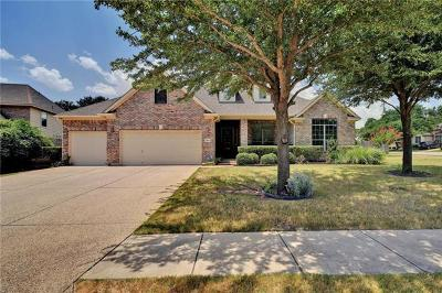 Round Rock Single Family Home For Sale: 3944 Walsh Ranch Blvd