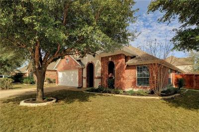 Pflugerville Single Family Home For Sale: 2208 Hanging Rock Dr