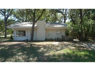Wimberley TX Single Family Home For Sale: $199,000