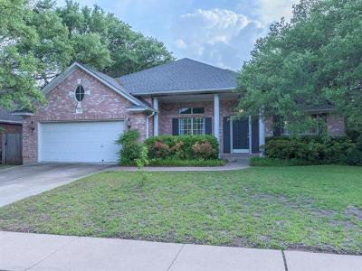 Round Rock Single Family Home For Sale: 910 Sweetwater Cv