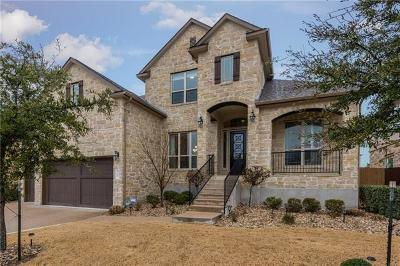 Cedar Park TX Single Family Home For Sale: $689,000