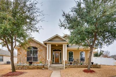 Cedar Park Single Family Home For Sale: 1705 Hill Country Dr