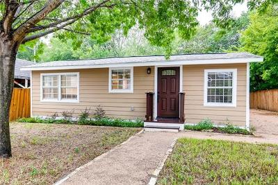 Travis County Single Family Home For Sale: 1144 Garland Ave