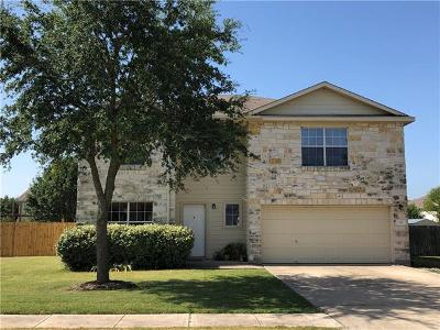 Hutto Single Family Home For Sale: 315 Phillips St