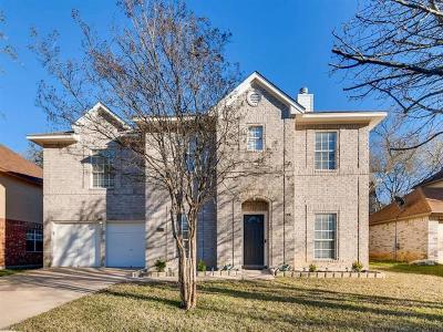 Leander Single Family Home Pending - Taking Backups: 16813 Black Kettle Dr