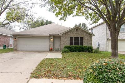 Cedar Park Single Family Home For Sale: 1609 Eagle Wing Dr
