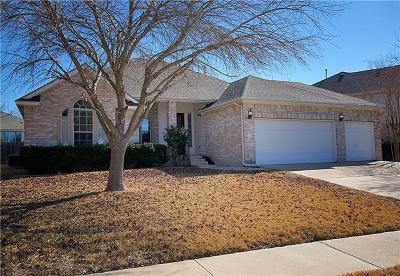 Pflugerville Single Family Home For Sale: 20216 Bellerive Dr