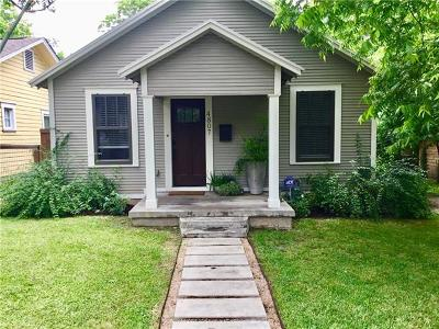 Austin Single Family Home Pending - Taking Backups: 4807 Avenue H