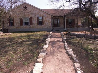 Single Family Home For Sale: 400 Fischer Trl