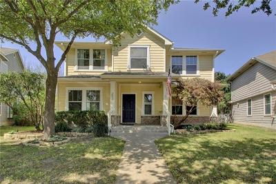 Cedar Park Single Family Home Pending - Taking Backups: 203 Cadillac Cv