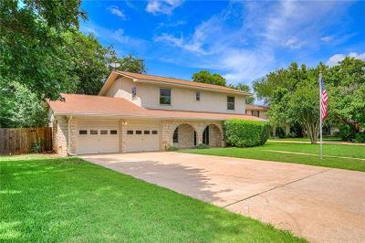 Round Rock West Sec 01, Round Rock West Sec 04, Round Rock West Sec 06a Single Family Home For Sale: 1706 Cedar Creek Cv